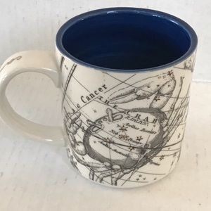 Anthropologie Cancer Salt & Earth Mug